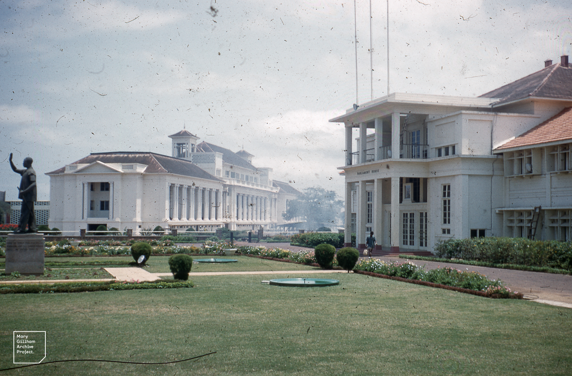 Parliament House and Supreme Court Accra
