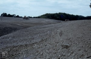Phase 2 - East Cosmeston soil moving. July 1979