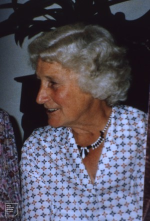 Mary Gillham, Sydney, late 1989