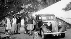Gillham family roadtrip to Switzerland, 1939
