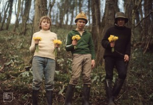 Scouts and cubs sell Coed y Bwl daffodils at 10p for 40. Pick 80,000+ a year and are monitoring. Castle Upon Alun 1972