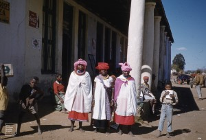 Three Susuto belles. 1960. Pietersburg