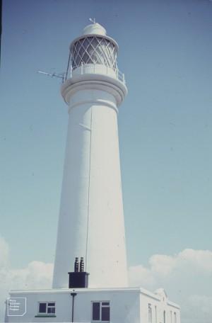 Flat Holm light house. 22nd June 1963