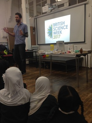 Our event at Cardiff Muslim Primary School as part of British Science Week 2017