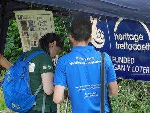 Our first outreach event was next to the Gellideg estate by Merthyr in 2016