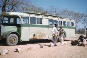 Salisbury United Bus - Zambeze River, Africa 1960